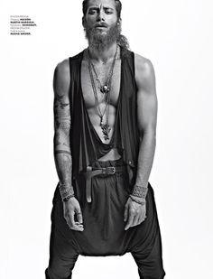 ANDREA MARCACCINI GOES TRIBAL FOR ELLE MAN MEXICO  Credits: © Courtesy of Danny Cardozo Photographer | Creative Director