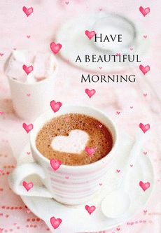 Good Morning Beautiful Pictures, Good Morning Love Messages, Happy Morning Quotes, Morning Greetings Quotes, Good Morning Picture, Morning Pictures, Good Night Gif, Cute Good Morning Gif, Morning Pics