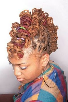 Loc Hairstyles Archive | Black Women Natural Hairstyles