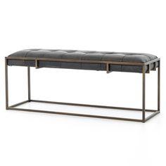 (https://www.zinhome.com/oxford-tufted-vintage-black-leather-bench-43/)