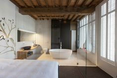 Modern Rustic Inspiration from Belgium Features Exposed Ceilings ...