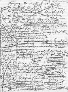 Finnegans Wake - for any writer who has ever struggled to get it right first time, take solace from the pen of the great james joyce