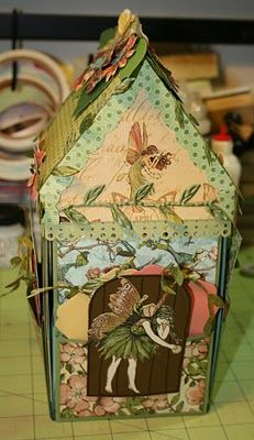 The Paper Trail: Fairy House Exploding Box view1