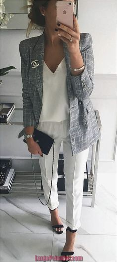 Here is Business Outfit Ideas for you. Business Outfit Ideas what to wear to work in the summer business casual outfits. Looks Street Style, Looks Style, Business Casual Outfits, Office Outfits, Office Wear, Corporate Outfits, Summer Business Attire, Business Clothes, Summer Work Outfits Office