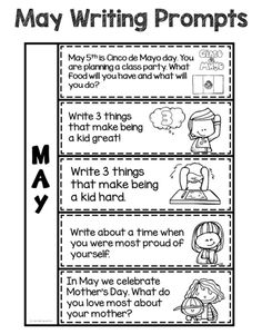 easy writing prompts