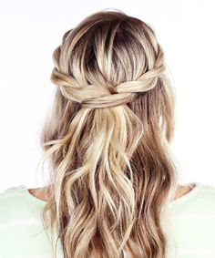 How To Do Hairstyles For Long Hair Prom Hairstyles Waterfall Braid Quinceanera Hairstyles  Prom 2018