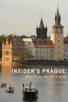 Insider's Prague: Tourist Traps to Avoid, What to Do, Where to Eat     via @umarket