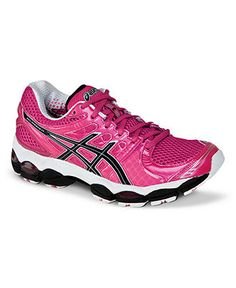 Something like this - hot pink gym sneakers!