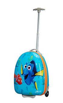 American Tourister New Wonder 2-wheel cabin baggage upright suitcase 45x31x24cm Dory-Nemo Fintastic