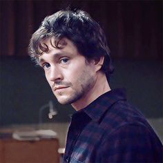 """Hugh Dancy as Will Graham, Rôti (S1E11) """" HIS SKIN IS SO CLEAR IT FILLS ME WITH RAGE"""