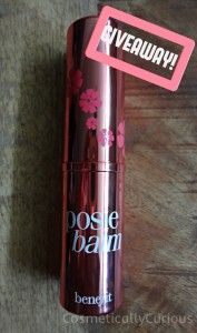 Benefit Posie Balm & Lolli Balm   Theyre The Balm diggety! + [GIVEAWAY]