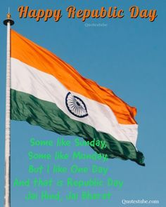 Republic Day India, The Republic, Indian Flag Quotes, 26 January Quotes, Tiger Wallpaper, History Of India, Different Quotes, Day Wishes