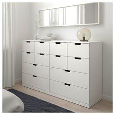 Dresser Storage, Dresser Drawers, Bedroom Storage, Chest Of Drawers, Dressers, Nordli Ikea, Ikea Pax, Plywood Furniture, Bedroom Furniture