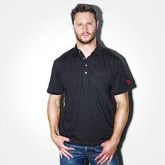 D'Addario, Daddario, Polo, Poloshirt, Shirt, Meinlshop, Merchandise, Modellnummer: DF113W Shirts, 3, Mens Tops, Shopping, Store, Black, Fashion, Cotton, Nice Asses
