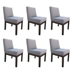 Set of 6 Dining Chairs by Directional  