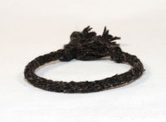 Kumihimo Eco Friendly Recycled Fiber Bracelet by epicstitching, $8.00