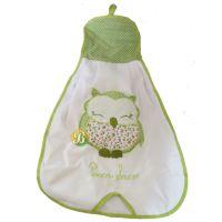 Decorative Hanging Bag Green Owl to Store Supermarket Bags @SupermercadoBRA