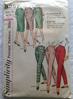 Vintage Fifties Simplicity Printed Pattern by CoolOldStuffIFound, $18.00