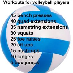 i should do this every single day.. Now thats Im a volleyball...playa!!! - Life And Shape