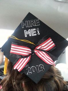 College graduation cap DIY!