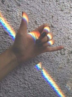 #rainbow #prism #aesthetic