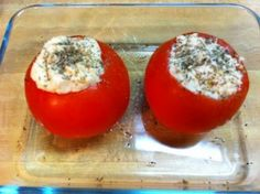 Chicken Stuffed Baked Tomato Phase 2 | Miracle Skinny Drops