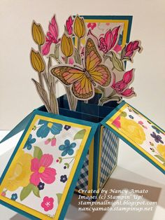 Stampin' All Night: Card In A Box Tutorial  Great idea for an invitation =)
