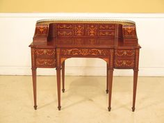23682E: HORNER Antique Inlaid Mahogany by StenellaAntiques on Etsy