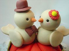 cute cake topper
