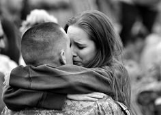 Long distance love. God bless The men and women serving our country and their families