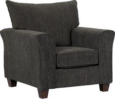 Mason Chenille Chair Dark Grey