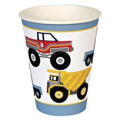 Big Rig / Truck Party Cups