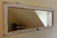 Fenster so shabby Antik Spiegel Vintage