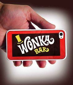 Willy Wonka Bar Design iPhone 4 Case or iPhone 4s Case Cover | eBay