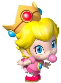 My favourite Mario character, Baby Peach!