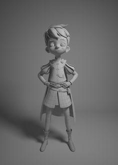 The King\'s Son by Leonardo Rezende | Cartoon | 3D | CGSociety