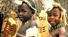 The Zulu People, South Africa. These proud people with strong African traditions can be found in KwaZulu-Natal.