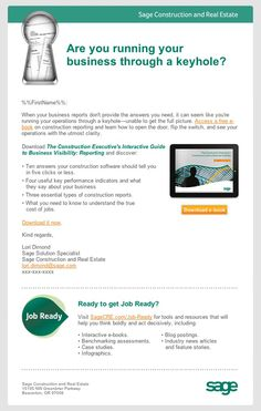 Sage Job Ready—Design and Development-Email