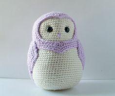Very Pretty Owl Amigurumi (no pattern just eye candy)