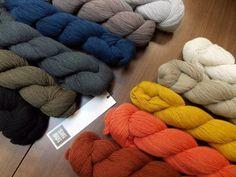 Shibui Cima: lace weight blend of alpaca and merino.