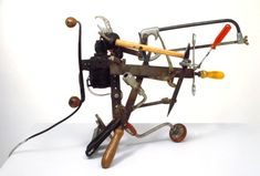 Jean Tinguely 'Débricollage', 1970 © The estate of Jean Tinguely Jean Tinguely, Yves Klein, Mixed Media Sculpture, Sculpture Art, Tate Modern Museum, Art Terms, Sound Art, Kinetic Art, Small Sculptures