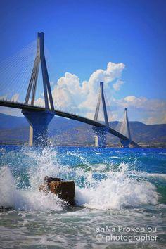Rio Antirrio bridge, Greece