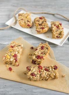 Quinoa and Chia Granola Bars