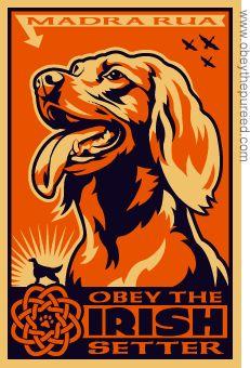 http://www.obeythepurebreed.com/images/irish_setter_art.gif