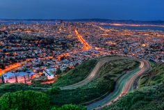 Twin Peaks Blvd San Francisco - Beautiful Photography Of Cities From Around The World