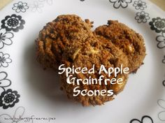 Spiced Apple Grainfree Scones
