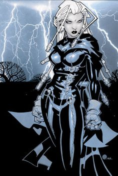 Chris Bachalo is my favorite comic book artist I love this picture of storm =)