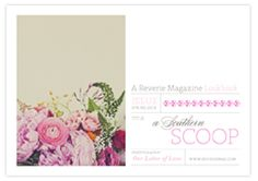 love @Reverie Magazine for all their inspiration and lookbooks!