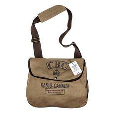 Red Canoe's CBC Radio-Canada bag