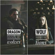 Lions wolves and dragons